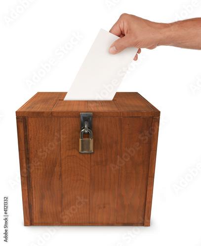 Valokuva  Submitting a Vote