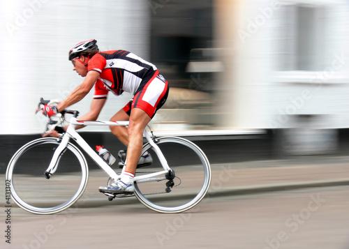 Deurstickers Fietsen Racing Pro Cycler