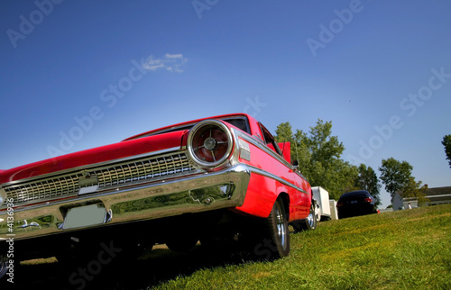 Tail Lamp Of Muscle Car Buy This Stock Photo And Explore Similar