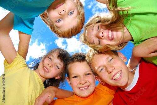 Fototapeta happy children