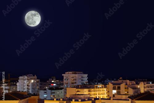 Poster Pleine lune Moonlight