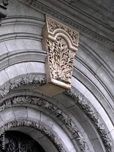 Ornate Keystone Fototapet