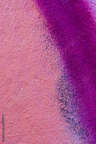 Spoed Fotobehang Roze graffiti