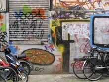 Amsterdam Urban Graffiti Scene