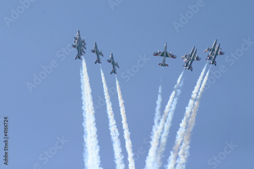 Fototapeta Air-show jet fromation