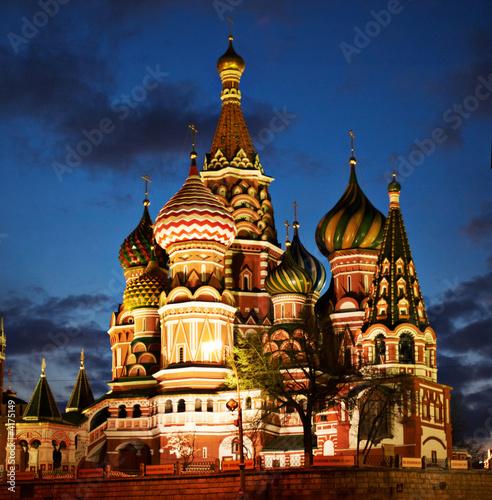 Foto-Flächenvorhang - St. Basil Cathedral (von serjek)