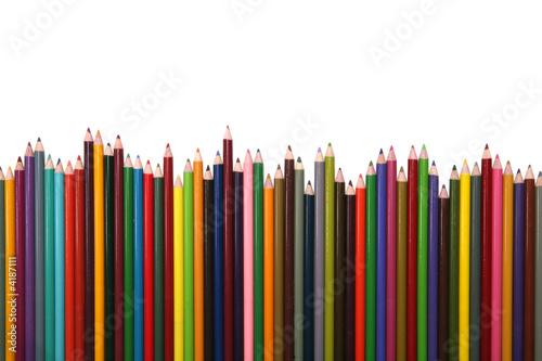 Fototapeta dla dzieci   kolorowe-kredki