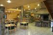 Interior of the georgian restaurant