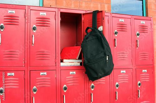 Obraz na plátne School Lockers