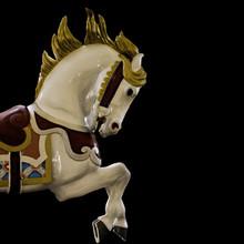 White Painted Pony