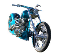 Custom Built Motorbike With Cl...