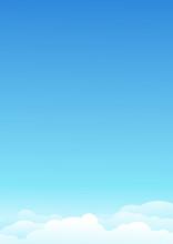 Ciel Bleu Et Ses Nuages