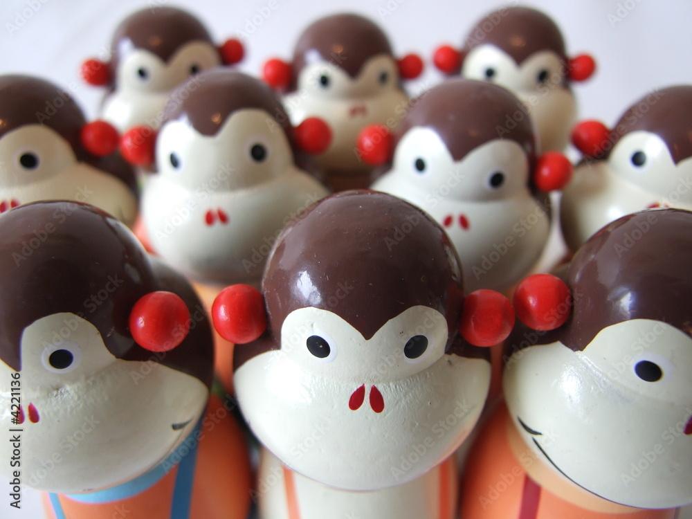 Fotografía  Monkey Faces