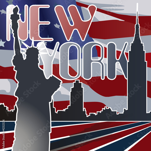 Foto-Kassettenrollo premium - New York