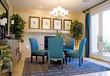 Leinwandbild Motiv Elegant dining room