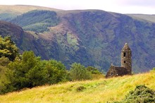 St. Kevin's Ancient Church In Glendalough, Ireland