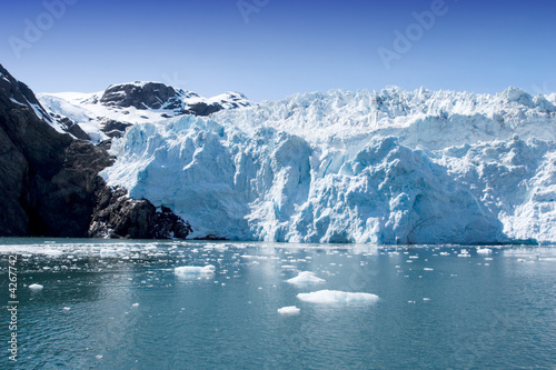 Printed kitchen splashbacks Glaciers Hubbard Glacier