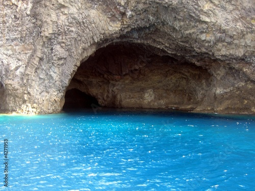 Alicudi - La grotta Canvas Print