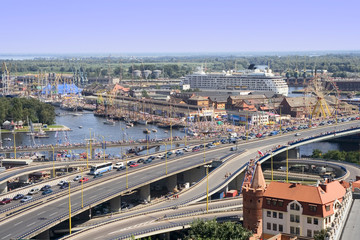 Szczecin Cityscape