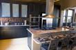 Leinwandbild Motiv Modern kitchen