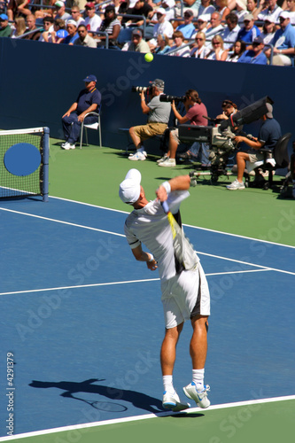 Fotografie, Obraz  Tennis serve