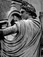 Waddesdon Manor - Male Archer Statue