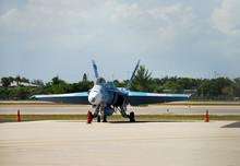 Stationary Jet Fighter