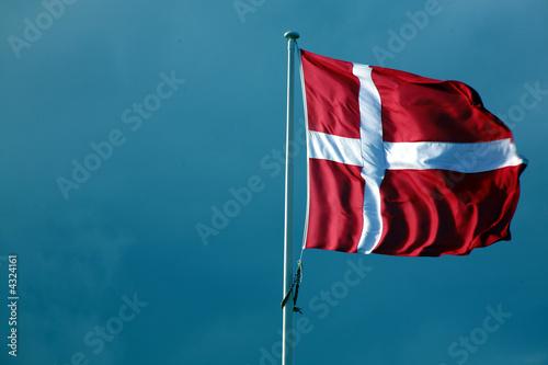 Wallpaper Mural dänische flagge
