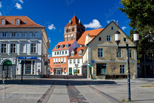 Fototapety, obrazy: Greifswald am Mülentor
