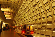 Rosslyn Metro Station Near Washington DC And Georgetown