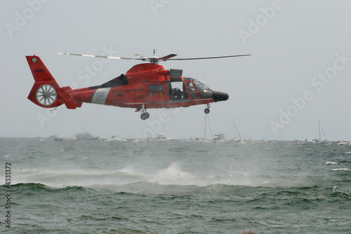 Poster Helicopter USCG HH-65 Dolphin