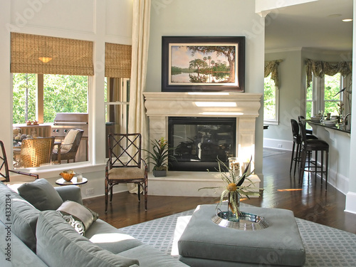 Fotografie, Tablou  Luxury 7 - living room 1