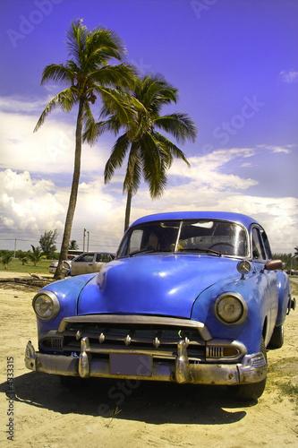 Fotobehang Cubaanse oldtimers Oldtimer