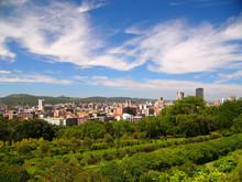 Pretoria -view From Union Building Gardens