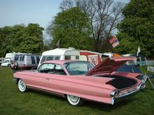 Cadillac Pink Classic Car 2