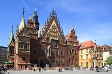 City Hall In Wroclaw (Poland)