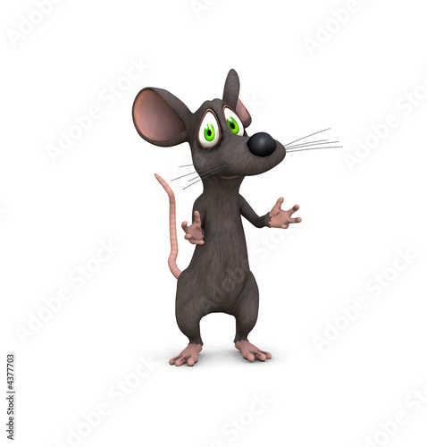 Fototapety, obrazy: mouse pleading