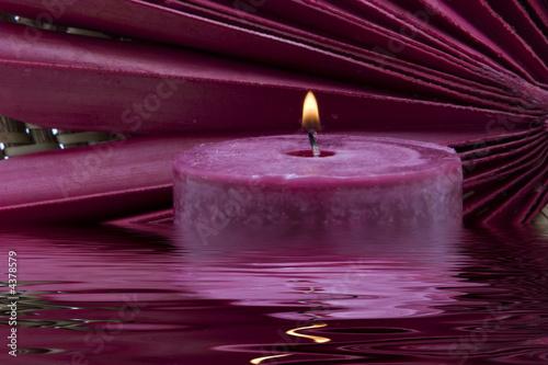 Fotografie, Obraz  Spa candle