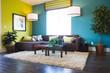 Leinwandbild Motiv Modern living room