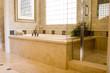 Leinwandbild Motiv Modern bathroom