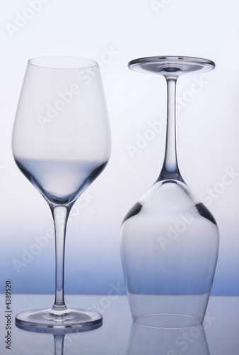 Fotografiet  Wine Glasses