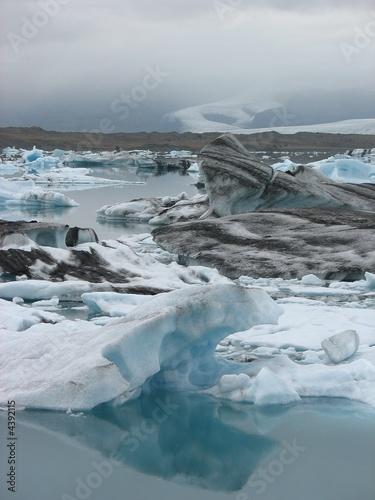 Poster Glaciers Jökulsarlon