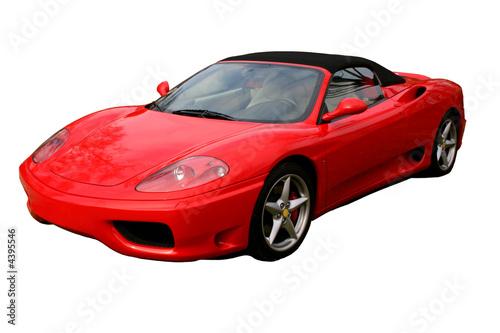 Foto-Doppelrollo - red convertible supercar (von Christopher Nolan)