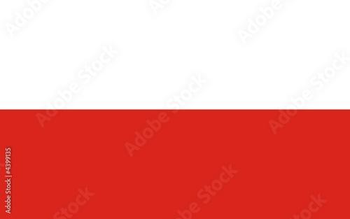 Obraz Flagge Polen - fototapety do salonu