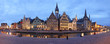 canvas print picture - Ghent XXL panorama