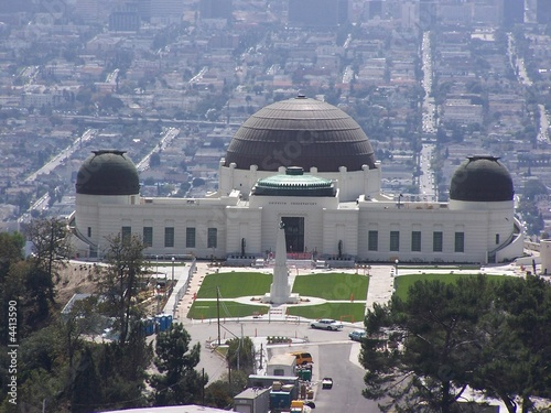 Griffith Observatory, Los Angeles Tablou Canvas