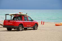 Beach Rescue On Patrol
