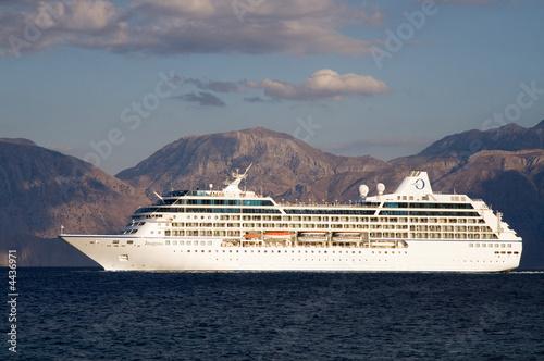 Oceania Cruises Insignia leaving Agios Nikolaos - Buy this