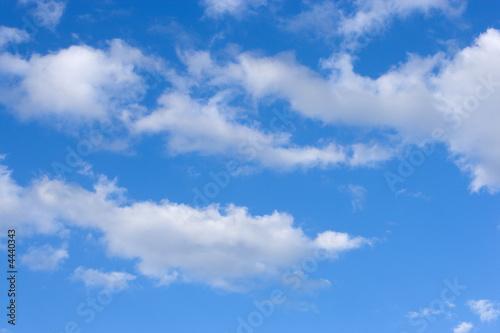 Fotografie, Obraz  Cielo azul nubes blancas