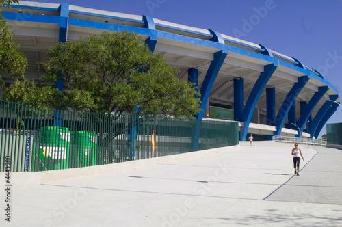 Fotobehang Stadion Fim de Jogo